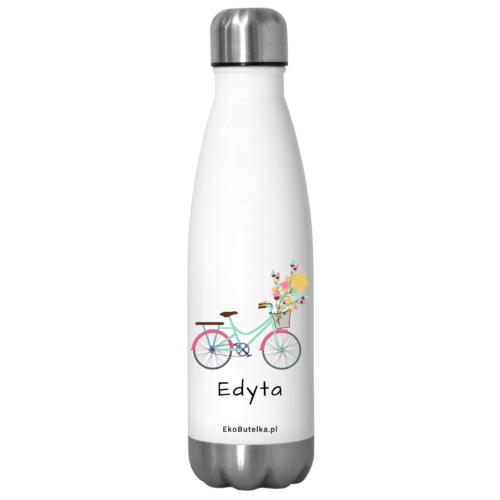 Wielorazowe butelki termiczne na rower