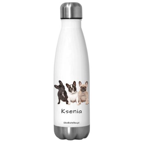 Butelki termiczne z psami
