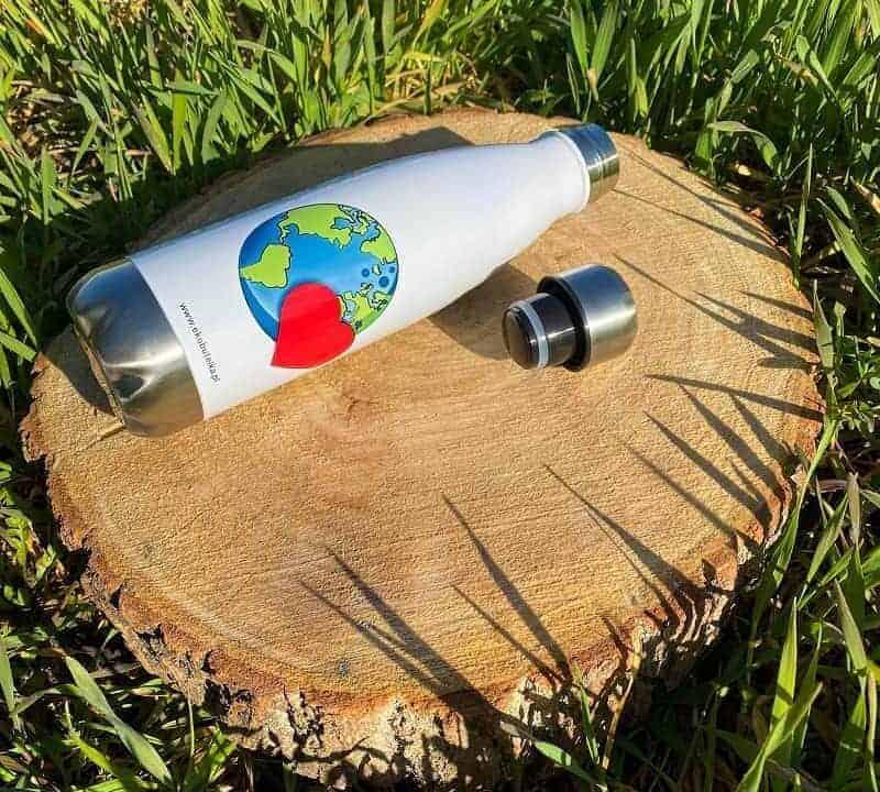 butelka ekologiczna wielorazowego u偶ytku firmy EkoButelka