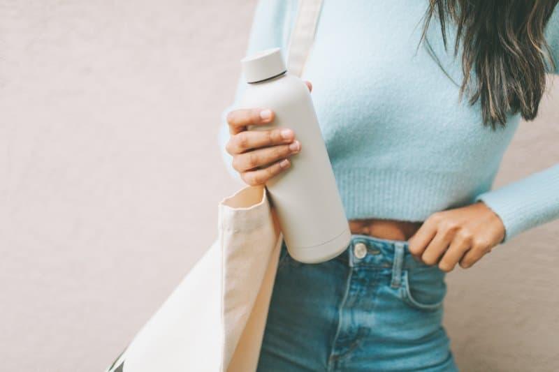 butelka wielorazowa z własnym nadrukiem